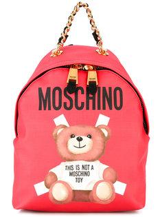 рюкзак с принтом в виде медведя Moschino