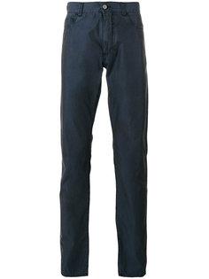 однотонные брюки Canali