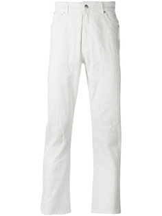 джинсы с потертостями Cmmn Swdn