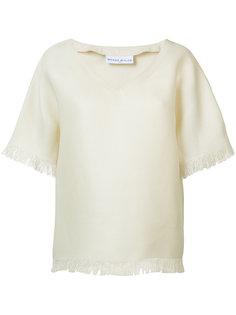 футболка с V-образным вырезом Wanda Nylon
