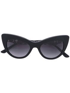 солнцезащитные очки с цветочным декором Dolce & Gabbana Eyewear