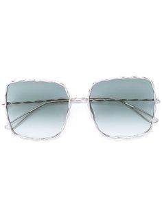 крупные солнцезащитные очки Elie Saab