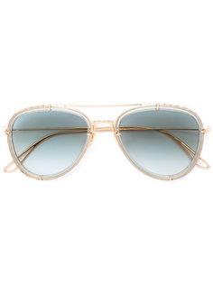 солнцезащитные очки-авиаторы Elie Saab
