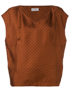 блузка с V-образным вырезом Alberto Biani