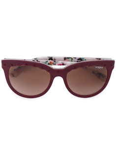 солнцезащитные очки с фестончатыми элементами Vogue Eyewear