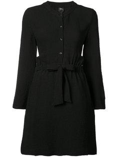 платье-рубашка со стяжкой на талии A.P.C.
