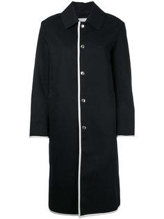 пальто с контрастной окантовкой Mackintosh