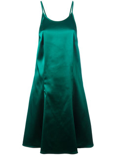 платье с глубоким вырезом сзади  Attico