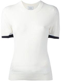 футболка с контрастной окантовкой Barrie
