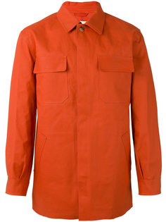 куртка рубашечного типа с накладными карманами Mackintosh
