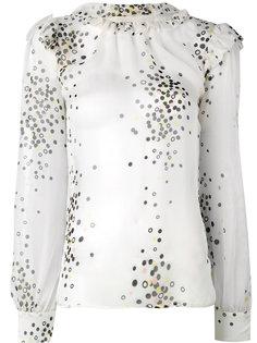 блузка с принтом конфетти  Marco Bologna