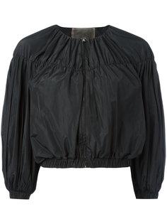 укороченная куртка с объемными рукавами Giambattista Valli