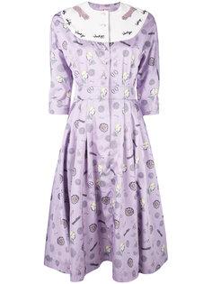 плиссированное платье Olympia Le-Tan
