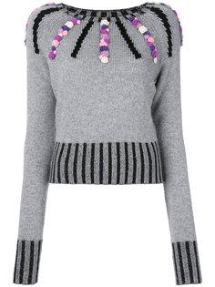 кашемировый свитер Margot с декором Olympia Le-Tan