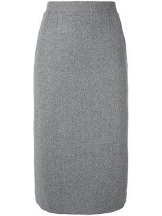 юбка-карандаш с плиссировкой сзади Olympia Le-Tan