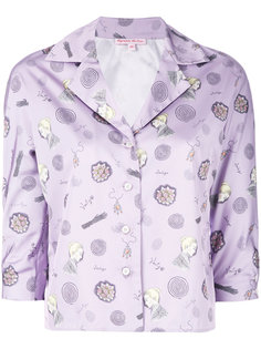 рубашка с рисунком Olympia Le-Tan