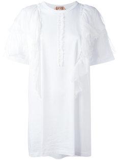 футболка с оборками Nº21