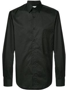 однотонная рубашка Lemaire