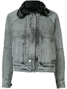 джинсовая куртка с линялым эффектом Saint Laurent