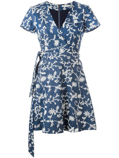 платье Mary Jo с запахом Alice+Olivia