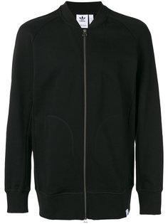 классическая куртка-бомбер  Adidas
