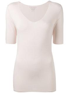 облегающая блузка с V-образным вырезом Majestic Filatures