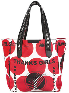 сумка-тоут Thanks Girls Stella McCartney