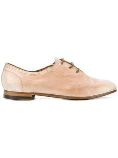 туфли на шнуровке Silvano Sassetti