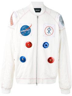 куртка-бомбер с космической тематикой Sankuanz