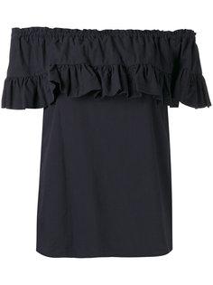 блузка с оборкой  Hache