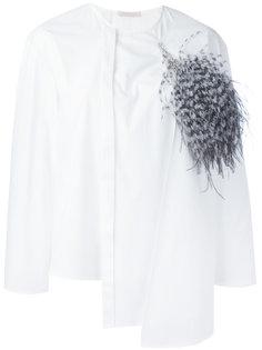 многослойная рубашка с длинными рукавами Christopher Kane