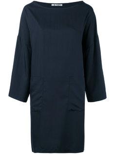 платье шифт с накладными карманами Barena