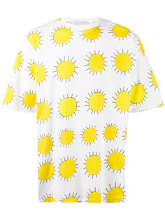 футболка с солнцем Christopher Kane