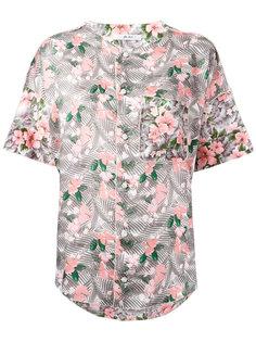 юбка с цветочным принтом Julien David