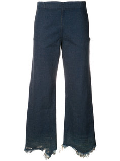 джинсы с необработанными краями Rachel Comey