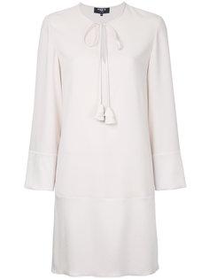 платье мини с длинными рукавами Paule Ka