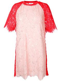 платье в стиле колор-блок Goen.J