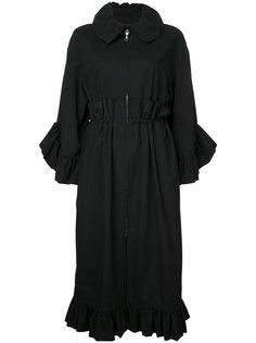 пальто с отделкой оборками Goen.J