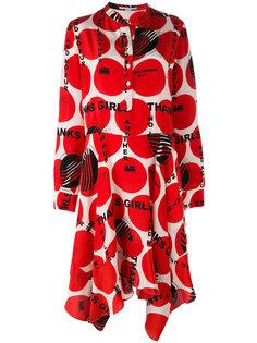 платье с асимметричным подолом Stella McCartney