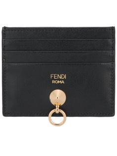 визитница с логотипом Fendi