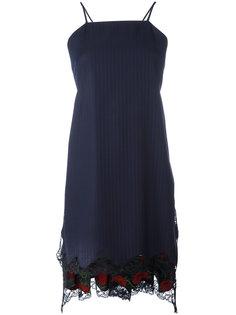 расклешенное платье-фартук Alexander Wang
