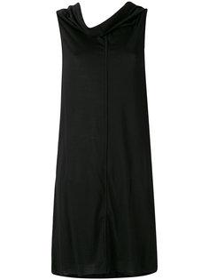 расклешенное платье с драпировкой Rick Owens Lilies