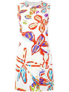 платье шифт с принтом Peter Pilotto