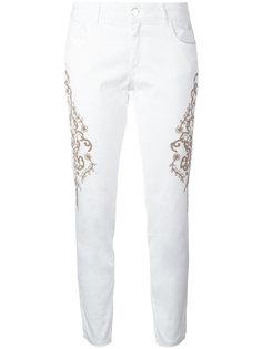 джинсы с вышивкой Wandering