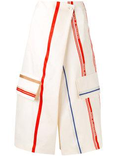 укороченные брюки с запахом  Ports 1961