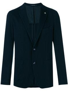 фактурный пиджак Tagliatore