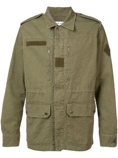 куртка в стиле милитари Saint Laurent