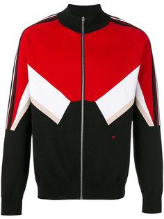 спортивная куртка с деталью шеврон Dior Homme