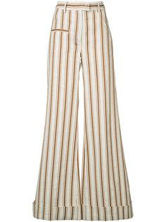 полосатые брюки-палаццо B-Boy Rosie Assoulin