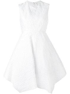 асимметричное короткое платье Delpozo